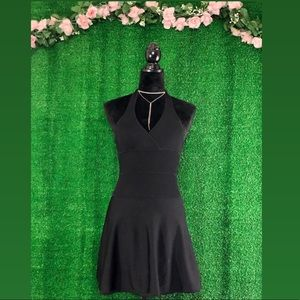 Bebe Halter Top Doll Dress